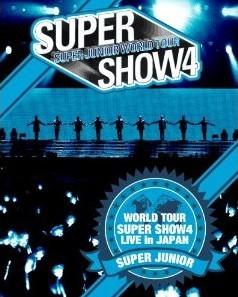 [DVD] SUPER JUNIOR WORLD TOUR SUPER SHOW4 LIVE in JAPAN