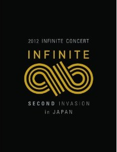 [DVD] 2012 INFINITE CONCERT SECOND INVASION in JAPAN