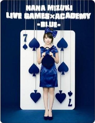 NANA MIZUKI LIVE GAMES×ACADEMY-BLUE-
