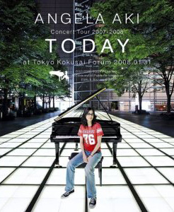 """Blu-ray  アンジェラ・アキ Concert Tour 2007-2008 """"TODAY"""""""