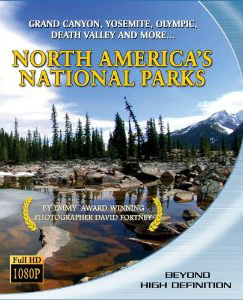 Blu-ray North America's National Park