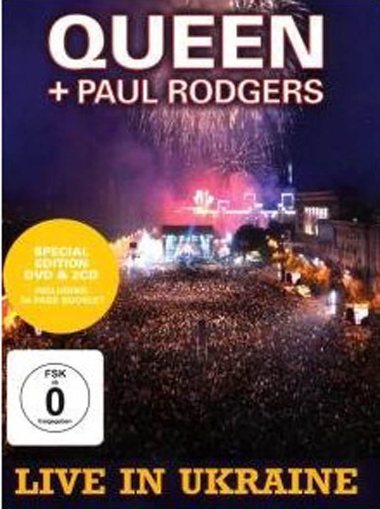 Live in Ukraine Queen+Paul Rodgers