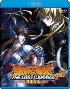 Blu-ray 聖闘士星矢 THE LOST CANVAS 冥王神話 VOL.1
