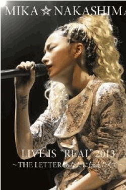 """[DVD] MIKA NAKASHIMA LIVE IS""""REAL"""