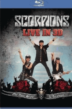 [Blu-ray] Scorpions Get Your Sting & Blackout Live 2011 in 3d