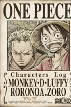 [DVD] ONE PIECE CHARACTERS Log.